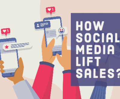 How social media lift sales